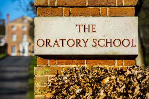 the oratory school entrance
